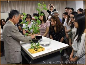 20160608  講義  2  生け花