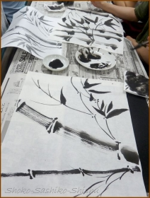 20160803  竹  3  水墨画