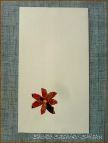 20160823  花弁  2  封筒で