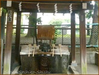 20160828 手水  1   諏訪神社