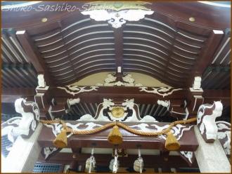 20160828 本殿  3   諏訪神社