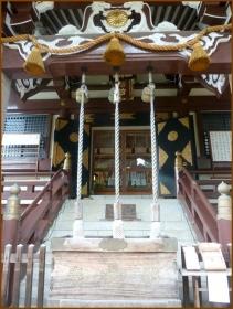 20160828 本殿  4   諏訪神社