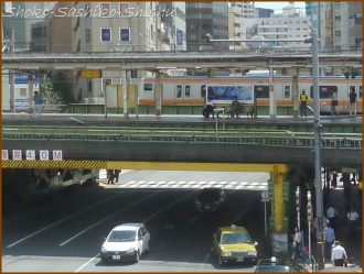 20160912  駅  2   飯田橋歩道橋