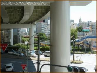 20160912  交差点  1   飯田橋歩道橋