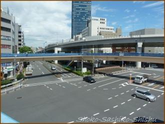 20160912  交差点  5   飯田橋歩道橋