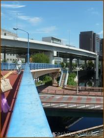 20160912  歩道橋  1   飯田橋歩道橋