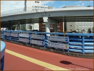 20160912  歩道橋  2   飯田橋歩道橋