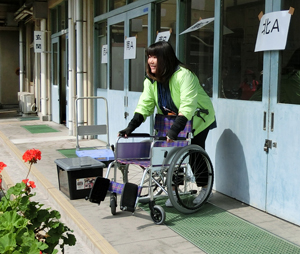 5車椅子の使い方