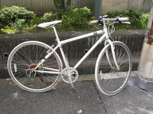 東8の放置自転車