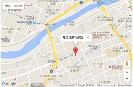 竜之介病院地図