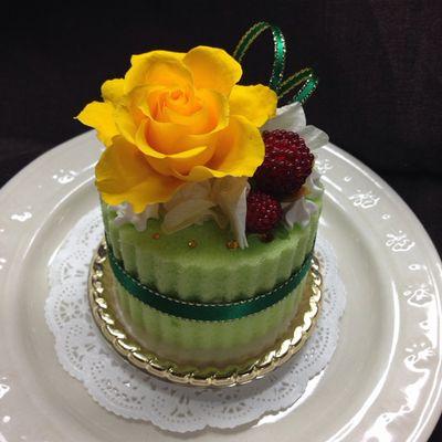 コロちゃん用誕生日ケーキ400