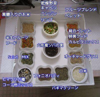 毎日のご飯
