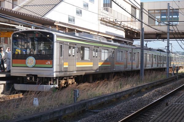 2016-04-29 八高線205系ハエ81編成 川越行き