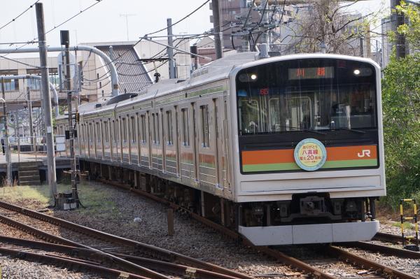 2016-04-30 八高線205系ハエ81編成 川越行き
