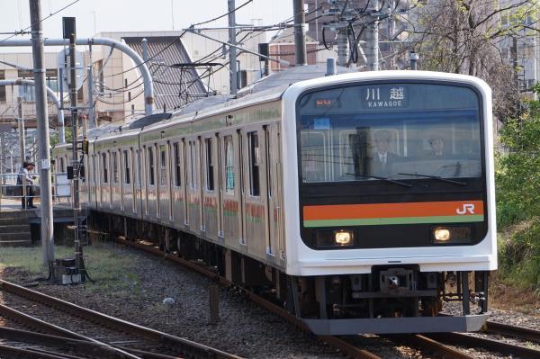 2016-04-30 八高線209系ハエ63編成 川越行き