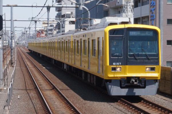 2015-05-17 西武6157F 快速急行飯能行き 1711レ