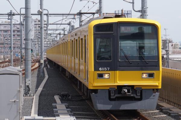 2016-04-09 西武6157F 急行飯能行き 2129レ