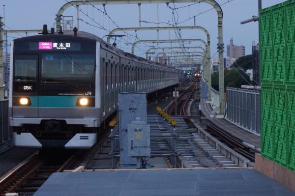2016-05-22 常磐線E233系マト2編成 多摩急行唐木田行き1