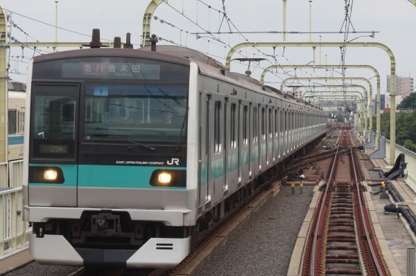 2016-07-19 常磐線E233系マト1編成 急行唐木田行き