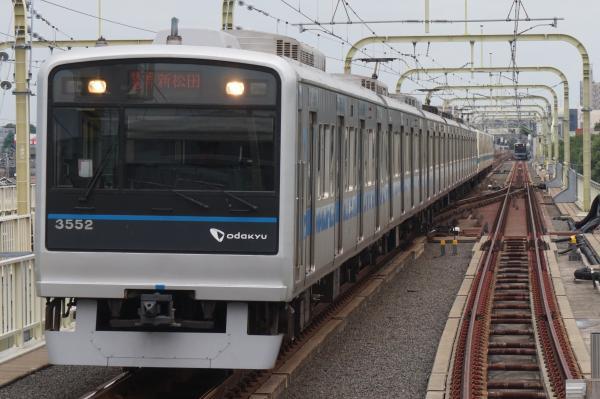 2016-07-19 小田急8066F+3252F 快速急行新松田行き