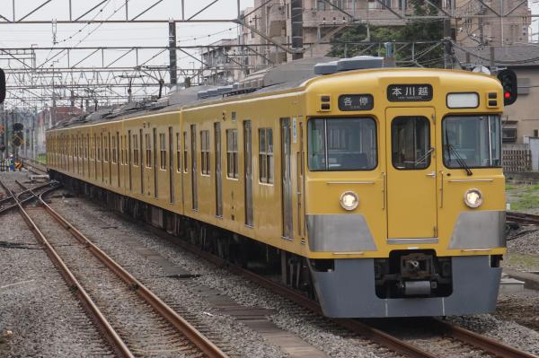 2016-07-25 西武2011F 各停本川越行き 5707レ