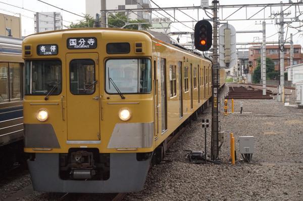 2016-07-25 西武2033F 各停国分寺行き 5776レ