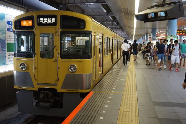 2016-07-25 西武2403F+2061F 急行西武新宿行き 2666レ