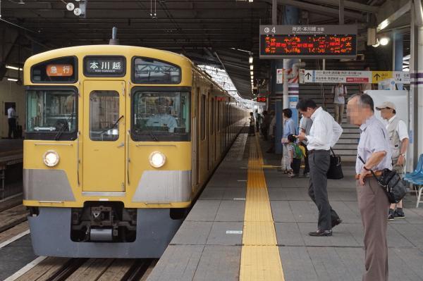 2016-07-25 西武2403F+2061F 急行本川越行き 2653レ