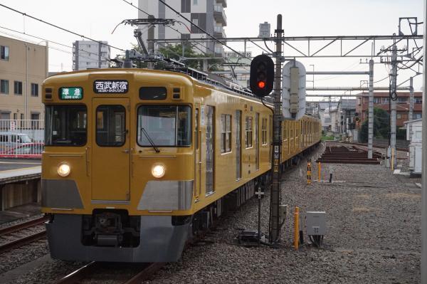 2016-07-25 西武2405F+2093F 準急西武新宿行き 4808レ