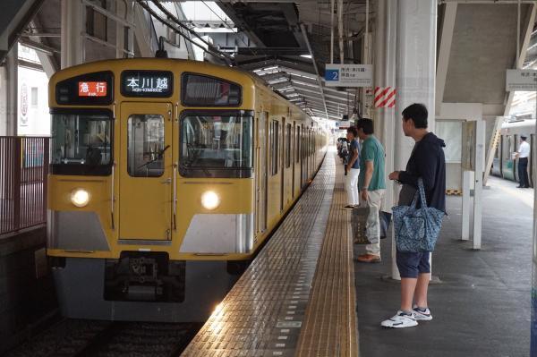 2016-07-25 西武2453F+2067F 急行本川越行き 2627レ