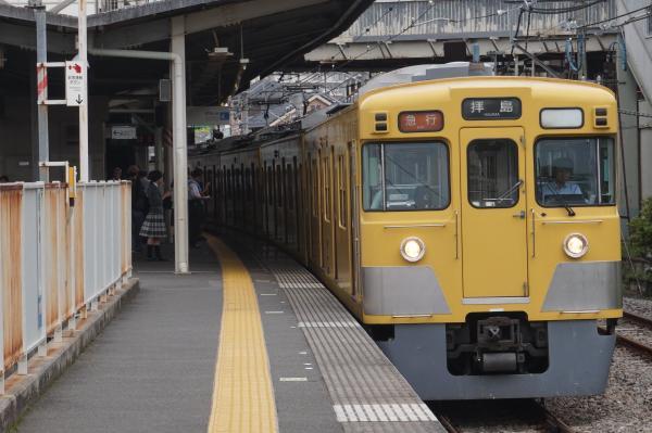 2016-07-25 西武2527F+2015F 急行拝島行き 2313レ
