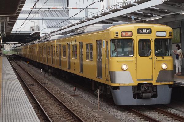 2016-07-25 西武2527F+2015F 急行本川越行き 2665レ