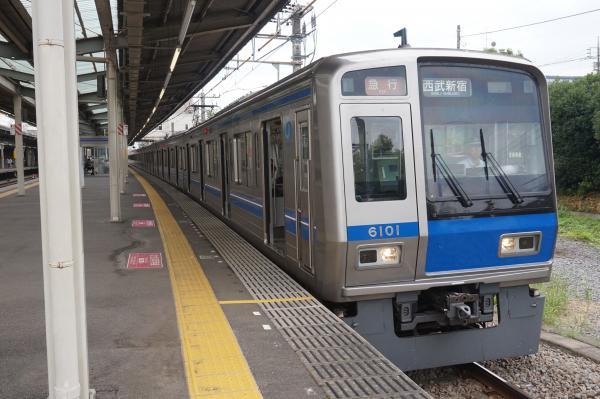 2016-07-25 西武6101F 急行西武新宿行き2 2332レ