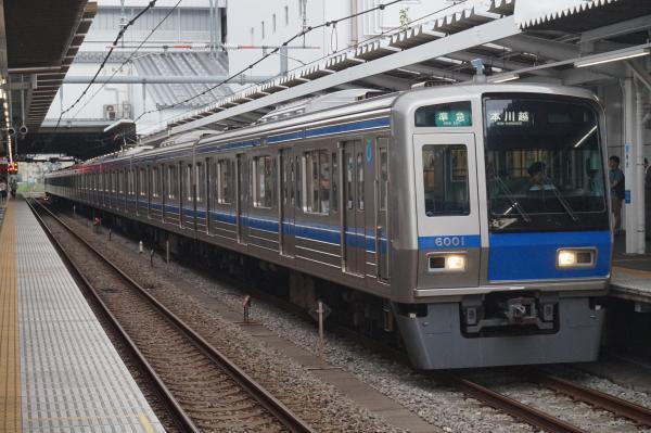 2016-07-25 西武6101F 準急本川越行き 4611レ