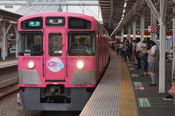 2016-07-25 西武9101F 準急池袋行き 4218レ