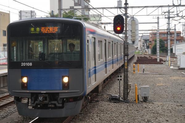 2016-07-25 西武20108F 準急西武新宿行き 4616レ