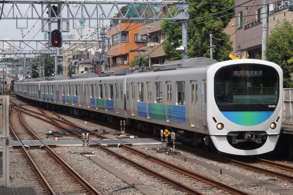 2016-07-25 西武30105F 急行西武新宿行き 2318レ