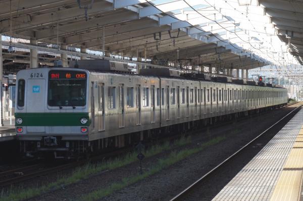 2016-07-29 メトロ6124F 急行柏行き