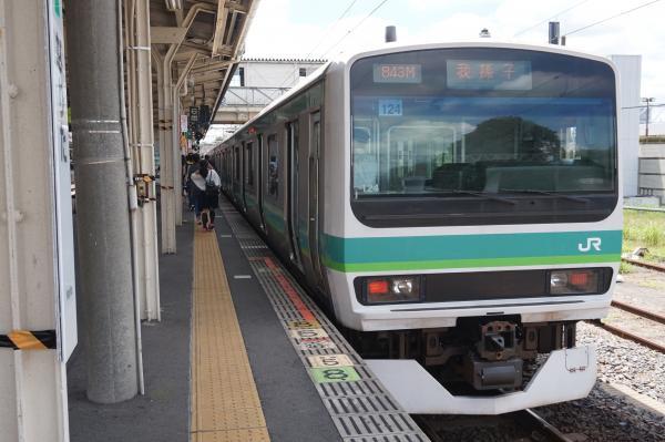 2016-07-30 成田線E231系マト124編成 我孫子行き