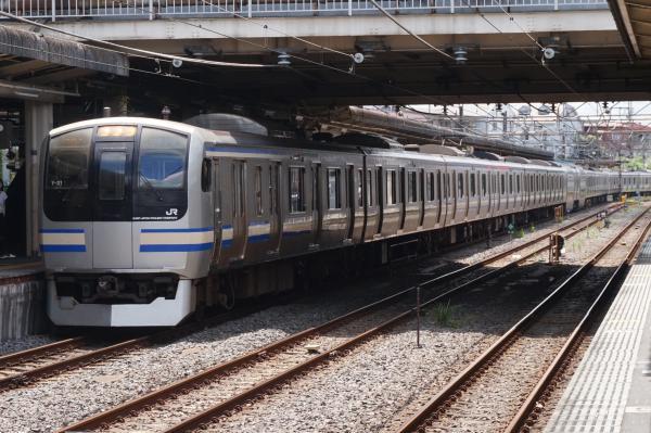 2016-07-30 総武快速E217系Y-31編成 快速成田空港行き