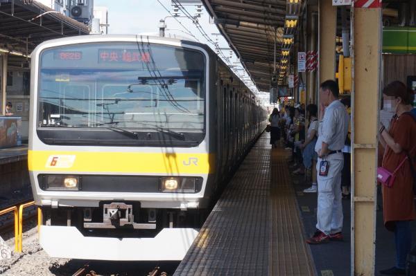 2016-07-30 総武線E231系ミツB15編成 千葉行き1