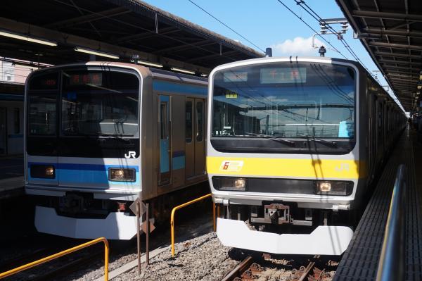 2016-07-30 総武線E231系ミツB17編成 東西線E231系ミツK2編成
