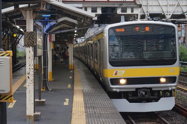 2016-08-03 総武線E231系ミツB9編成 千葉行き1