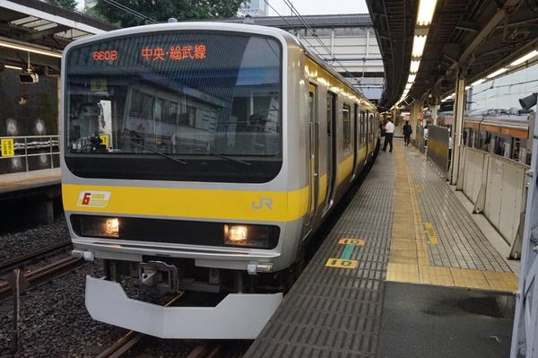2016-08-03 総武線E231系ミツB9編成 千葉行き2