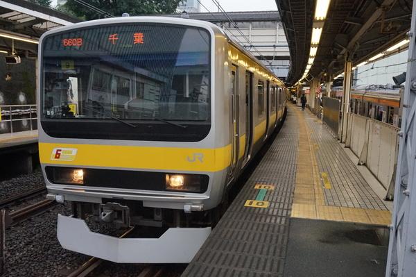 2016-08-03 総武線E231系ミツB9編成 千葉行き3