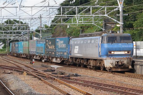 2016-08-03 EF200-4牽引 貨物列車