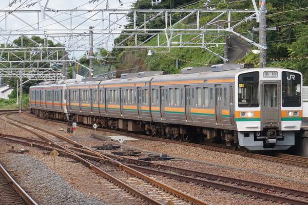 2016-08-03 東海道線211系シスSS5編成 浜松行き