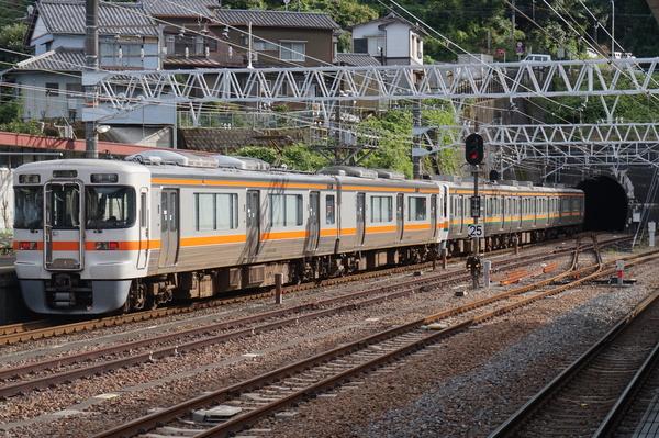 2016-08-03 東海道線313系シスW7編成 普通浜松行き