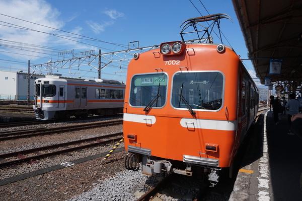 2016-08-04 岳南鉄道7002F 東海道線313系