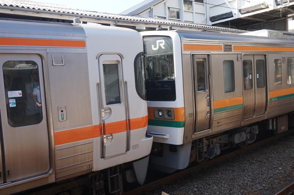 2016-08-04 東海道線211系_313系 連結部